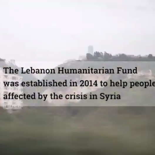 Lebanon Humanitarian Fund YouTube Video
