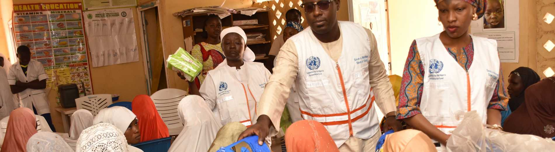 NHF-funded maternal and child health clinic in Adamawa State