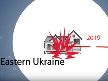 life in eastern Ukraine youtube thumbnail
