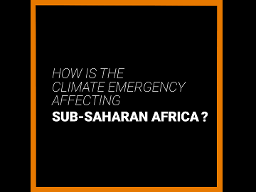 How is the climate emergency affecting Sub-Saharan Africa? YouTube Video