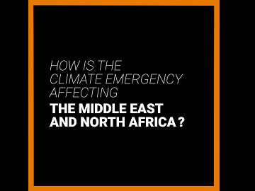 How is the climate emergency affecting the Middle East and North Africa? YouTube video