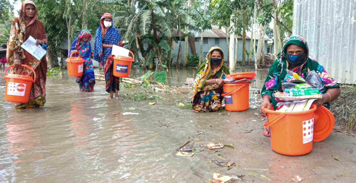 Bangladesh: UN helps monsoon-affected river communities before peak flooding hits