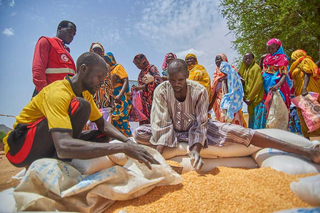A record number of Sudanese face a food crisis
