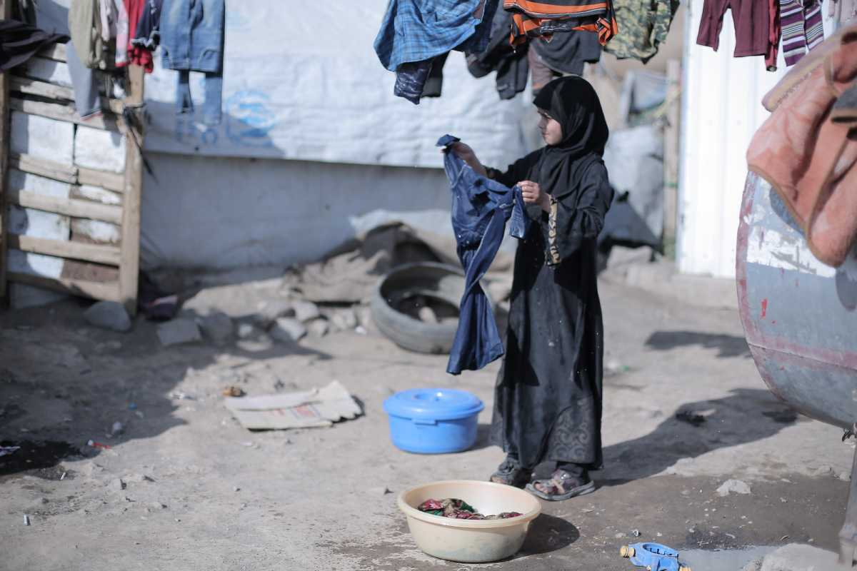 A community network gives hope to a displaced Yemeni