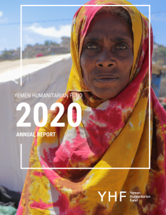 Yemen Humanitarian Fund 2020 Annual Report cover and pdf