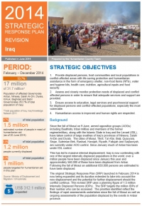 2014 Strategic Response Plan - revision