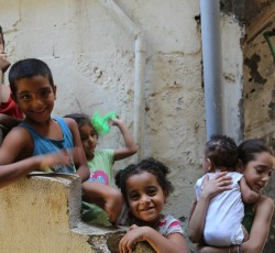 June 2013, Beirut: Since the start of the conflict in Syria, over half a million refugees have arrived in Lebanon, including nearly 60,000 Palestinians. Credit: OCHA/D.Palanivelu