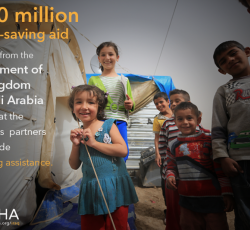Iraq: $500 million to respond to massive humanitarian crisis