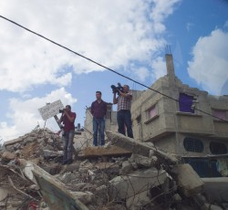 The pace of reconstruction in Gaza remains slow. Credit: UN/Eskinder Debebe