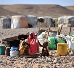 A quarter of a million people continue to cope with famine and a total of four million people are affected by the crisis in Somalia. Credit: UNHCR/Riccardo Gangale