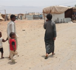 2013, Hajjah Governorate, Yemen: Since mid-2011, more than 70 children have been killed or injured by landmines or pieces of unexploded ordnance in Yemen. Credit: IRIN/John James