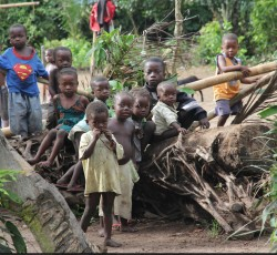 Bandundu Province: Many families are food insecure in western Congo due to poor harvests, chronic poverty and rising food crisis. Malnutrition rate in Bandundu has increased over 14%. Credit: OCHA/Gemma Cortes