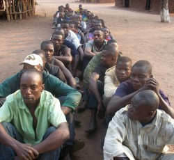 Democratic Republic of the Congo: Congolese men expelled from Angola. Credit: CISP