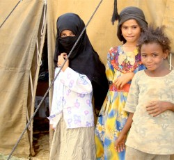 Child IDPs in al-Jawf pay the price for lack of access for aid workers to reach them with food aid. Credit: IRIN/Adel Yahya