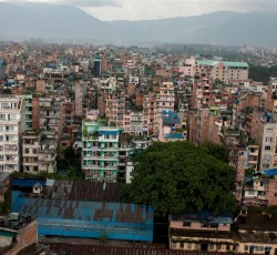 Kathmandu, Nepal. Kathmandu - the city and surrounding valley - sits on a fault line that experts believe may soon slip, triggering a potentially catastrophic earthquake. Photo: Nepal Risk Reduction Consortium/IRIN