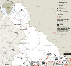 CAR: More than 21,000 displaced by LRA violence, new OCHA map reveals