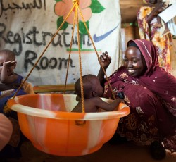 The Sudanese Government and humanitarian partners are working to secure the right of all Sudan's people to be free from hunger, food insecurity and malnutrition. Credit: UNAMID/Albert González Farran