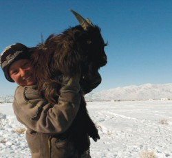 In early 2010, temperatures fell to minus-50 degrees Celsius, and snow impeded access to food, fuel, sanitation and basic medical care. Livestock, a primary source of income, died from hunger and exposure. Credit: UNICEF/ Andrew Cullen