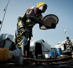 June 2014, Juba, South Sudan: An estimated 4 million people need help before the end of the year. Aid agencies have launched a new plan to help them, warning of stark consequences if funding is not received. Credit: OCHA/J. Zocherman