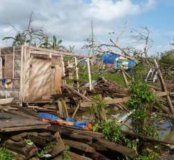 January 2013, Mindanao, Philippines: Typhoon Bopha was the 2012's deadliest storm. It killed over 1,000 people and affecting 6.2 million across Mindanao. Credit: OCHA/Eva Modvig