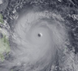 November 2013: The UN and its humanitarian partners are working alongside the Philippine Government to assess damage that has been caused by Typhoon Haiyan - 2013's strongest storm. Credit: NOAA