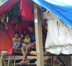Typhoon Bopha affected more than 6.2 million people, claiming over a thousand lives and displacing at least 800,000 people. Credit: OCHA