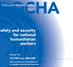 Humanitarian Issues: Improving the lives of national staff on the frontlines