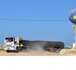 WFP is providing logistical support for the humanitarian relief effort in Libya, sending food and other urgent supplies including water, medicine and fuel to Tripoli. WFP is also scaling up food assistance to meet the needs of the most vulnerable internally displaced people in Tripoli, the coastal areas and the Nafusa Mountain Region. Credit: WFP