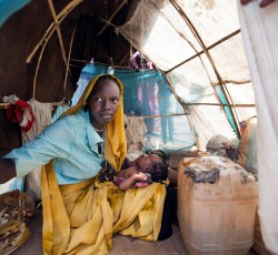 Some 60,000 people were forced from their homes in South Darfur since the end of February. Insecurity continues to hamper humanitarian organizations' efforts to address people's needs. Credit: UNAMID/Albert González Farran