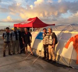 Emergency response experts from Japan joined the Disaster Assessment and Coordination team as part of OCHA's response to Typhoon Haiyan.