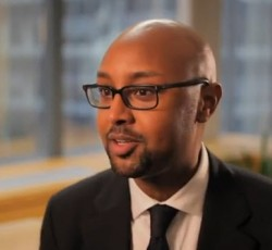 Yasin Samatar, former refugee, now Programme Officer at the UN.
