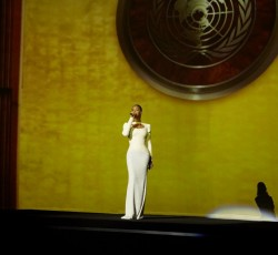 "10 August 2012: International superstar Beyoncé performs her song ""I was Here"" at the UN General Assembly."
