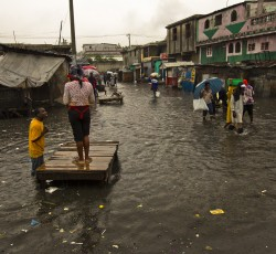 26 Oct, Haiti: Parts of Haiti affected by Hurricane Sandy which caused heavy rains and winds, overflowing rivers and flooding homes. About 60 people were killed and 1.8 million people have been affected. Credit: MINUSTAH/Logan Abassi