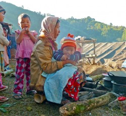 December 2011: A scene at the Warabung displaced persons camp in Kachin State, northern Myanmar December 2011. Credit: IRIN