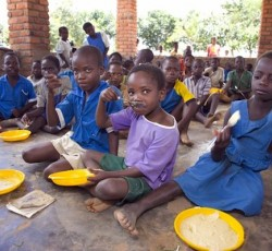 School feeding programme in Malawi. Credit: WFP