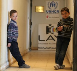January 2013, Lebanon: Syrian refugee at a child-friendly space run by humanitarian partners. Credit: OCHA/David Gough